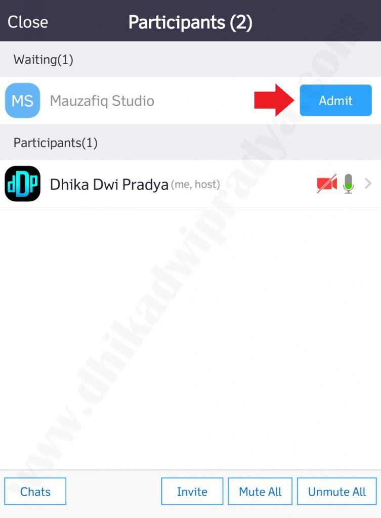 Cara Menggunakan Aplikasi Zoom di HP | Dhika Dwi Pradya